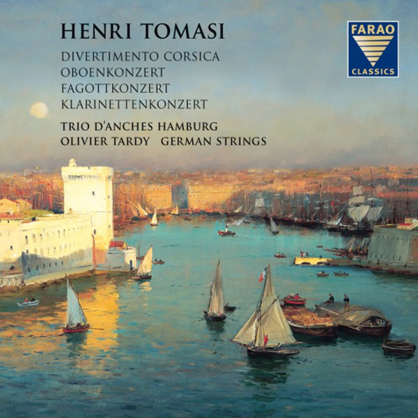 CD Cover, Henri Tomasi